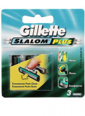 Кассеты Gillette Slalom Plus, 3 шт