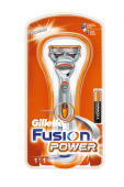 Станок Gillette FUSION  Power + 1 кассета, 1 шт
